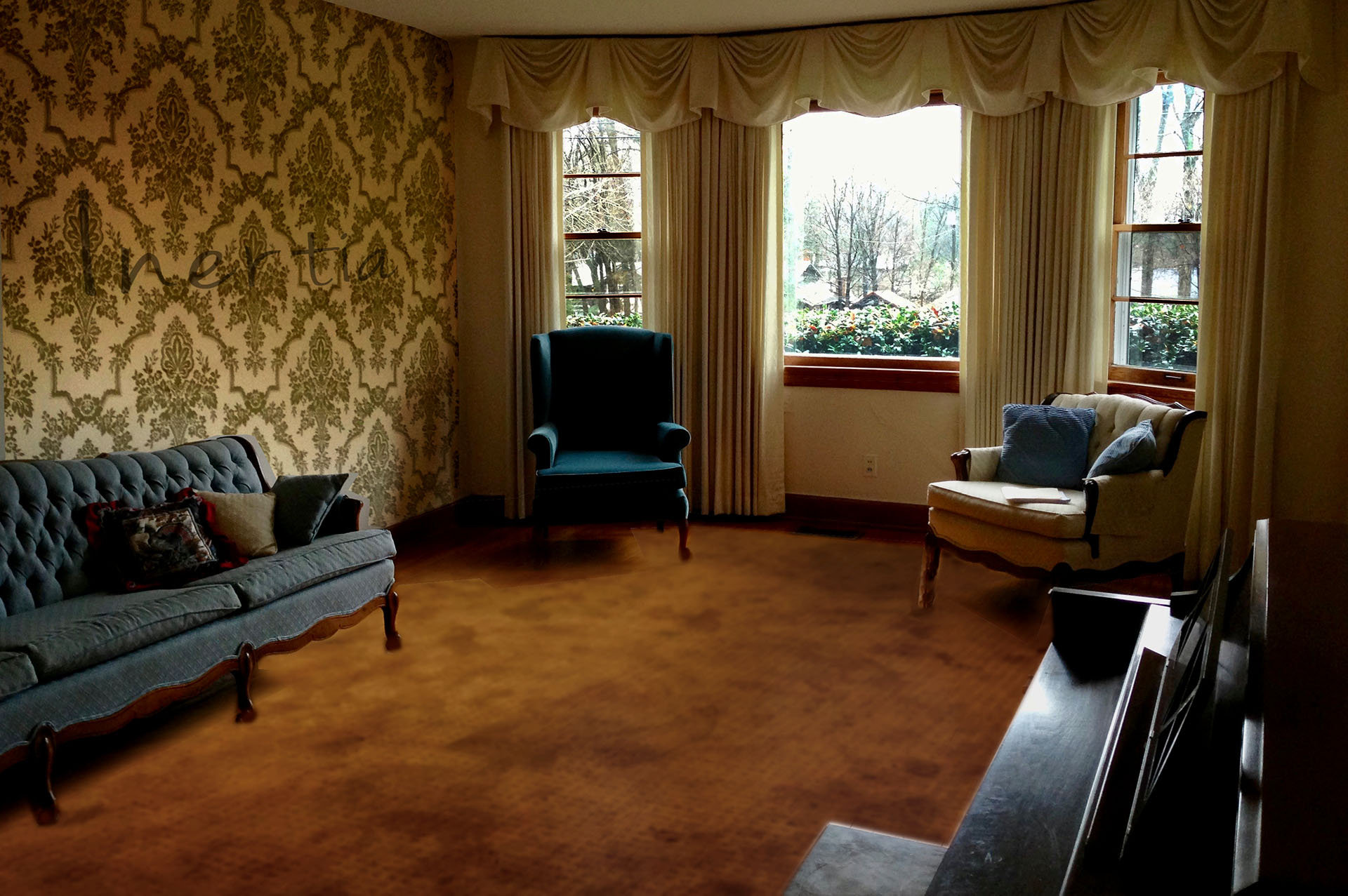 The Living Room of an Old Person\'s Home   Random Thoughts Of A Part ...